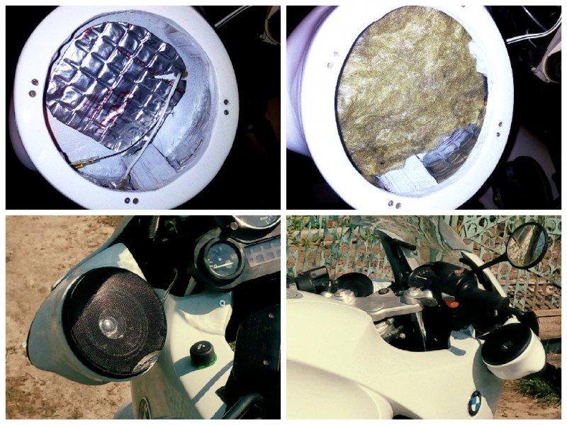Акустические комплекты на мотоцикл своими руками