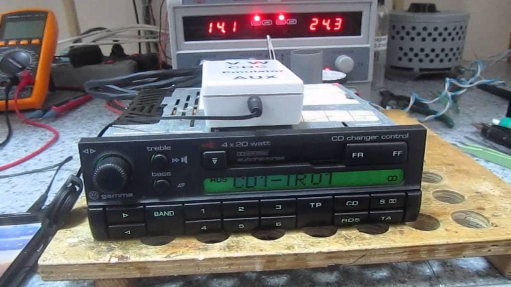 CD-чейнджер для автомагнитолы Гамма