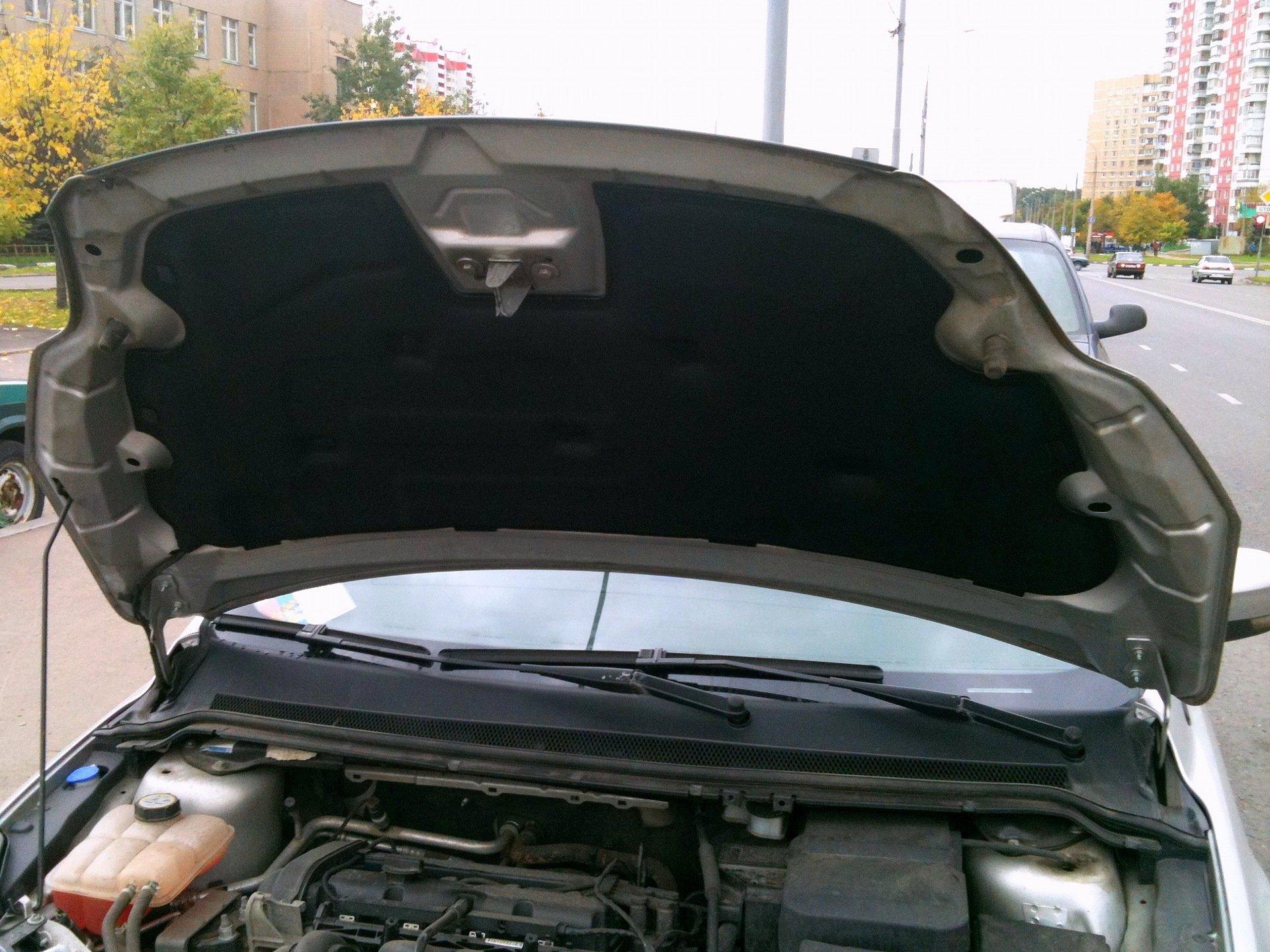 Шумоизоляция капота форд фокус 2 2 фотография