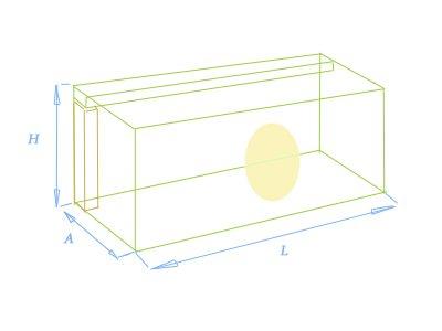 Из формулы расчета корпусов сабвуферов