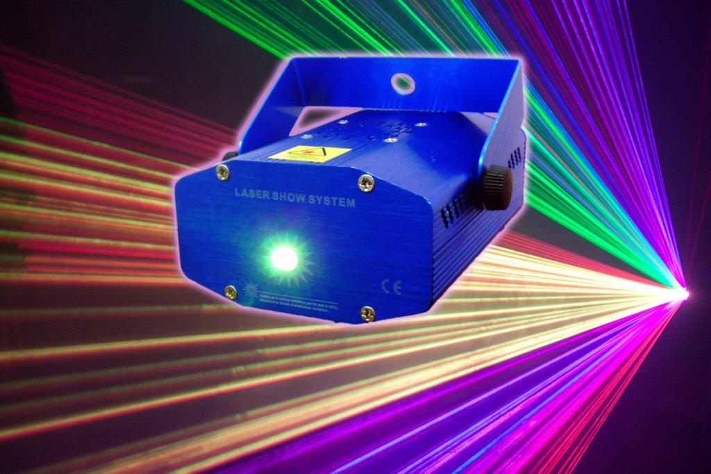 Лазерный цветомузыкальный проектор