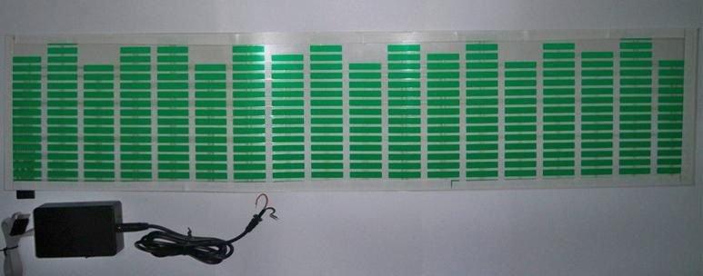 Лента эквалайзера на заднее стекло