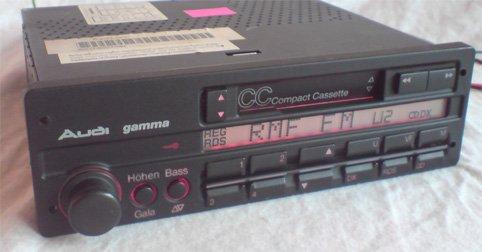 автомагнитола audi gamma ii подключение