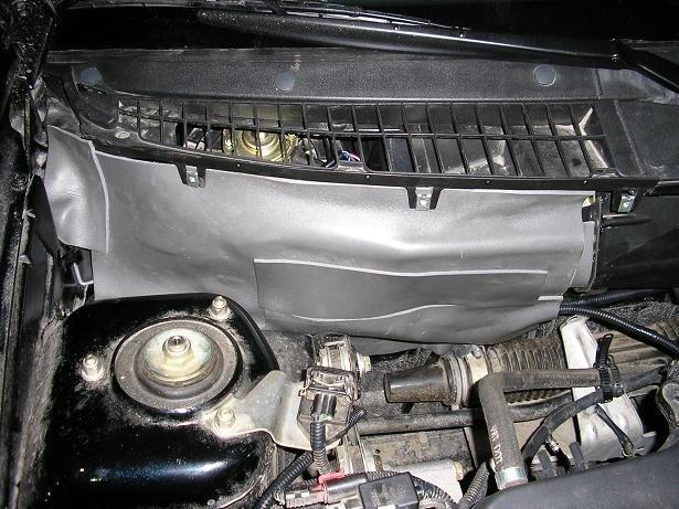 Фото №15 - шумоизоляция моторного отсека ВАЗ 2110