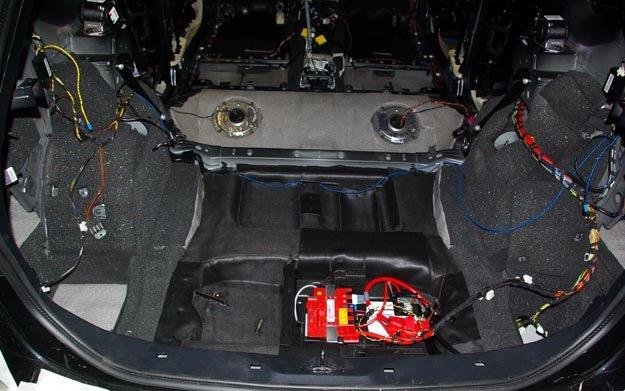 BMW X1 шумоизоляция