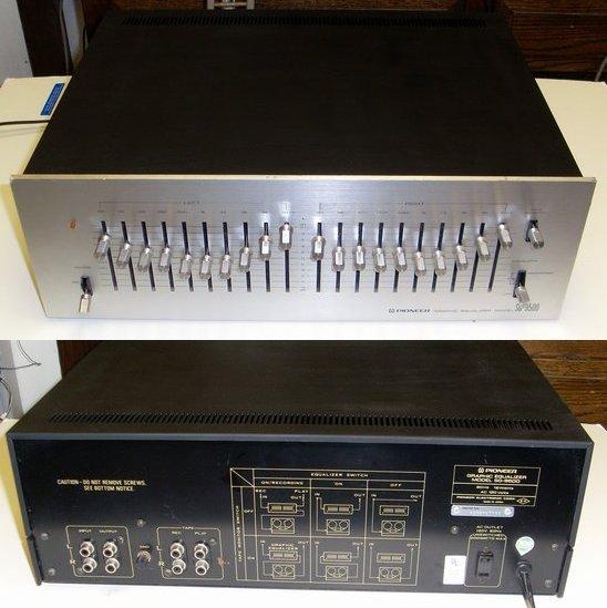Эквалайзер pioneer 9500