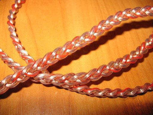 Пример самодельного аудио кабеля из витой пары