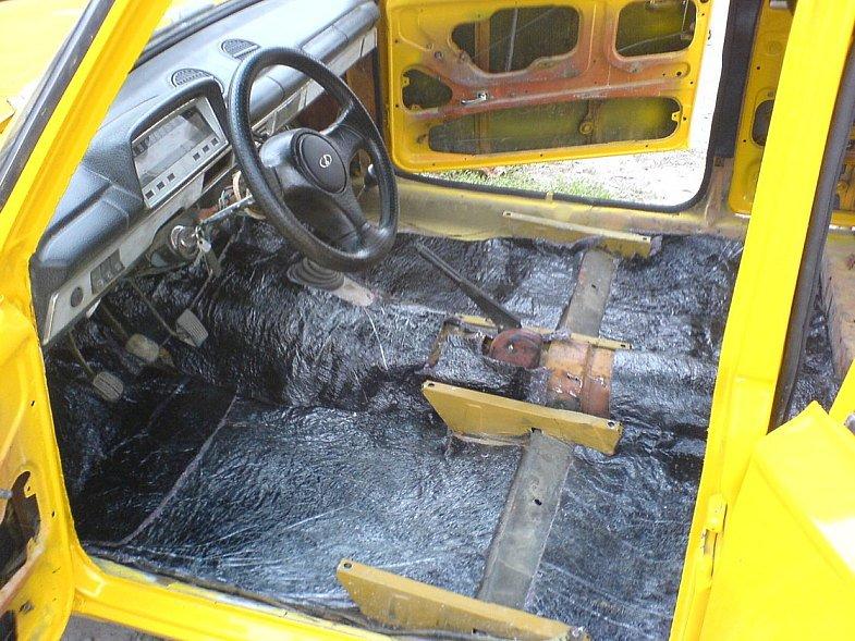 Авто шумоизоляция на ваз 2106