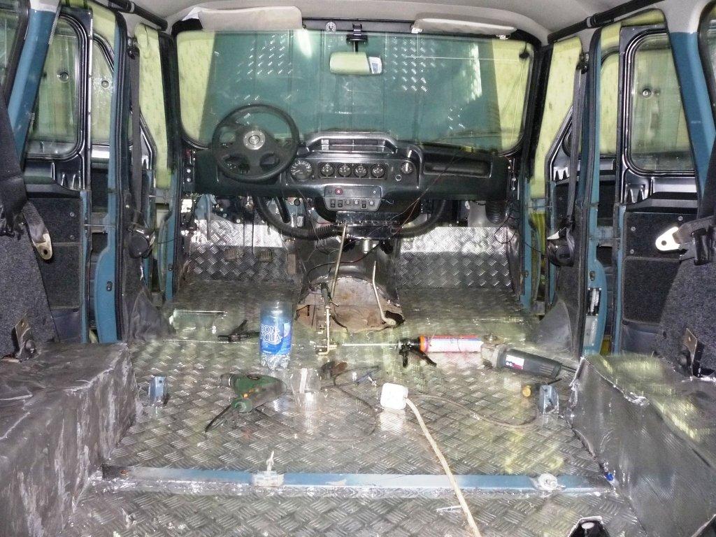 Тюнинг УАЗ-469 Хантер для бездорожья своими руками 49