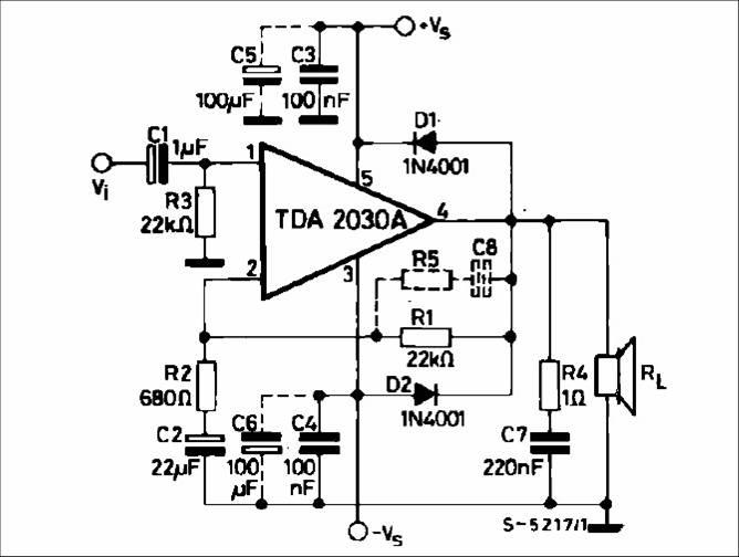 Усилитель сабвуфера tda2030