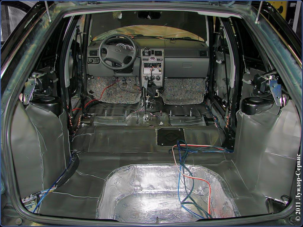 Шумоизоляции автомобиля своими руками 2112 фото 239