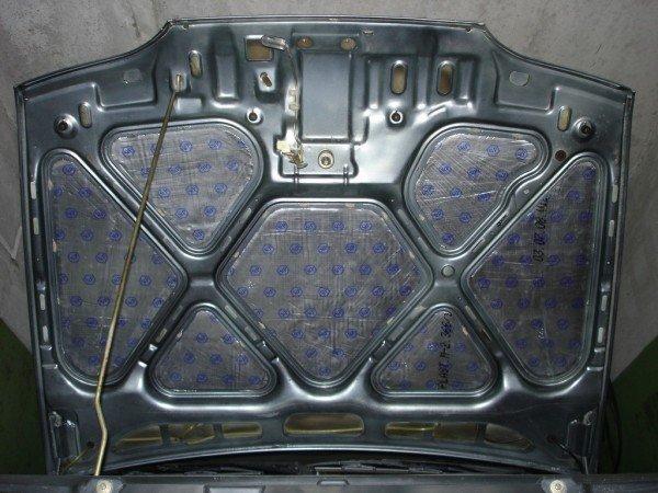 Шумоизоляция моторного отсека ваз 2114 и капота