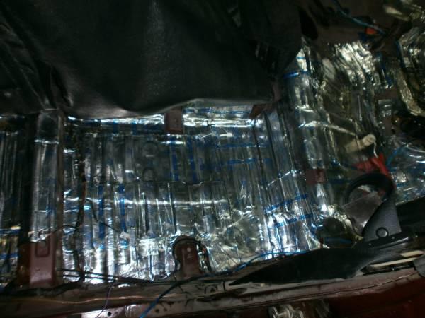 Шумоизоляция ланоса внутри салона, выполненная самостоятельно