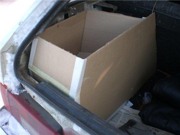 Сабвуфер в багажнике ваз 2114