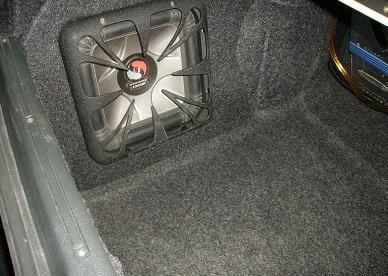 Сабвуфер в багажнике ваз 2109
