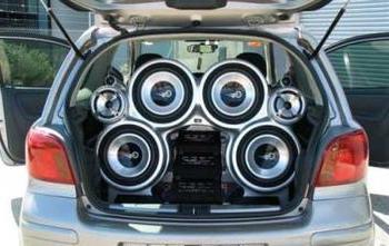 Настройка басов в машине