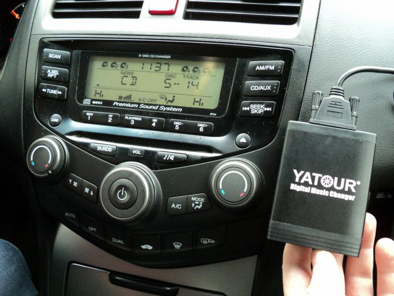 Какими способами можно сделать и подключить USB-вход к штатной магнитоле