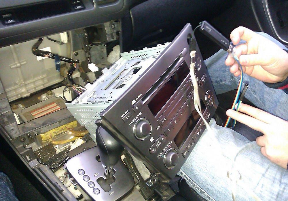 Как сделать магнитолу под флешку фото 841