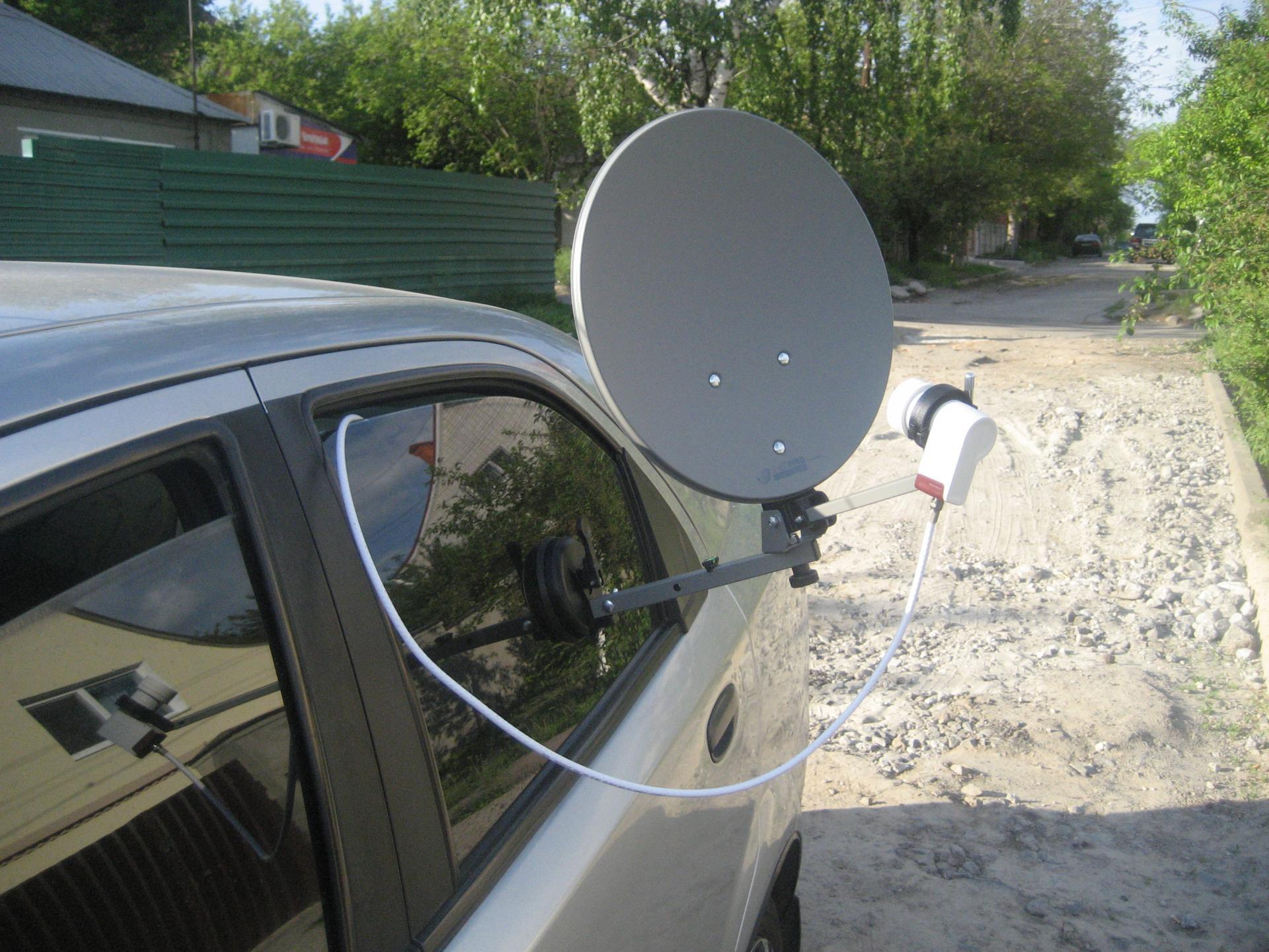 Тв антенна в машину как подключить