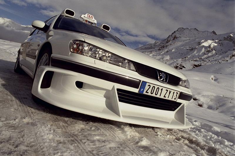 Легендарная машина из серии фильмов «Такси»