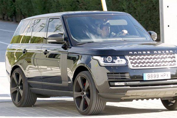 Range Rover Vogue Лионеля Месси