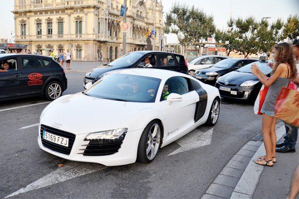 Audi R8 Лионеля Месси
