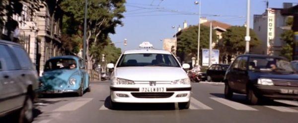 Машина из фильма Такси