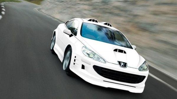Машина из фильма Такси 4