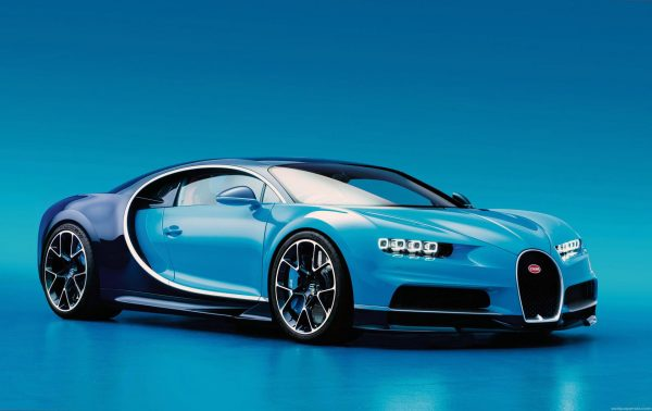 Bugatti Chiron — самая быстрая машина 2018 года