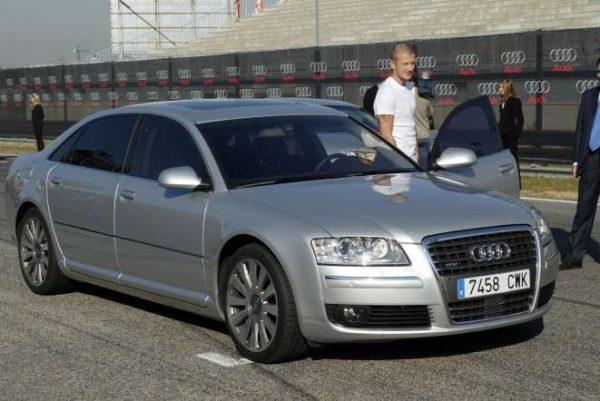 Audi A8 Дэвида Бекхэма