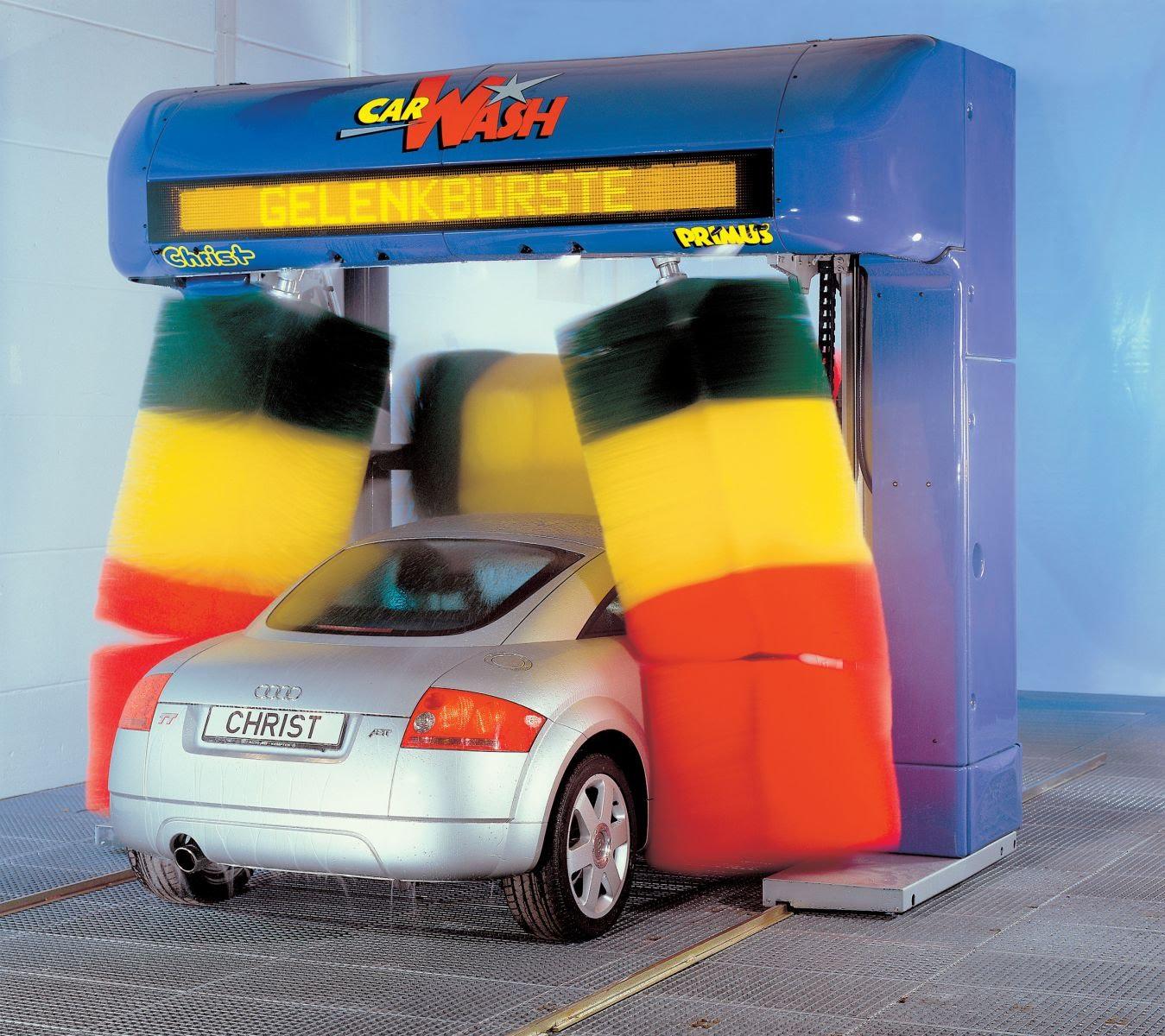 Автоматическая мойка автомобиля: быстро, дорого, опасно.