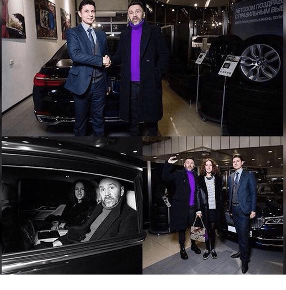 BMW 750 Сергея Шнурова