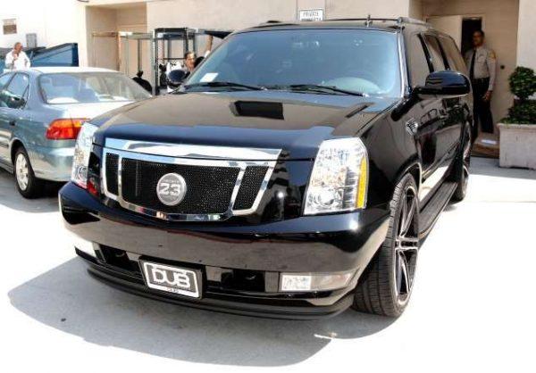 Cadillac Escalade Дэвида Бекхэма