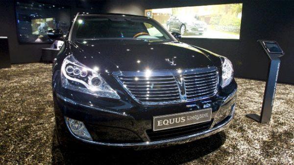Hyundai Equus Limousine Дмитрия Нагиева