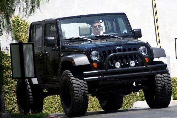 Jeep Wrangler Дэвида Бекхэма