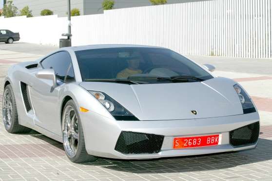 Lamborghini Gallardo Дэвида Бекхэма