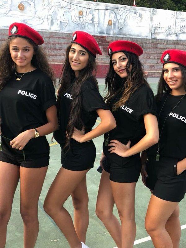 ливанские девушки полицеские