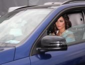 Ольга Бузова в машине