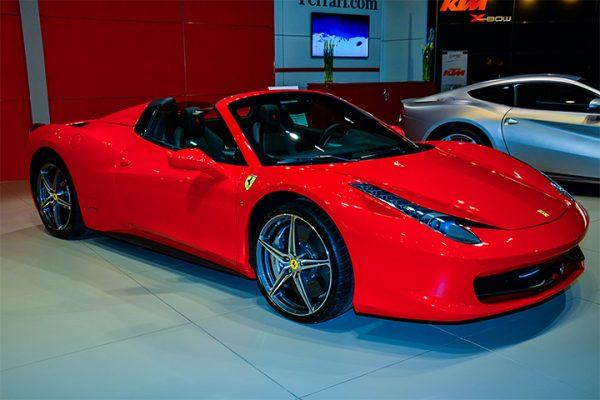 Ferrari 458 Spider Неймара