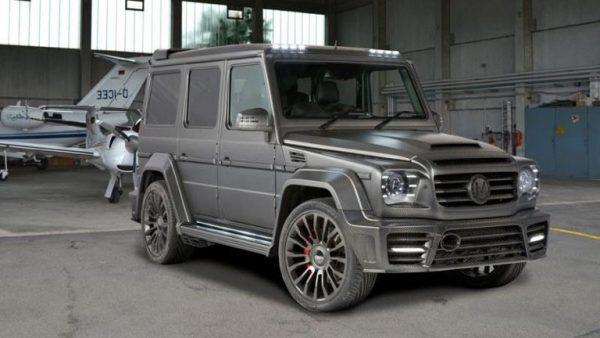 Mercedes-Benz G 65 Mansory Александра Кокорина
