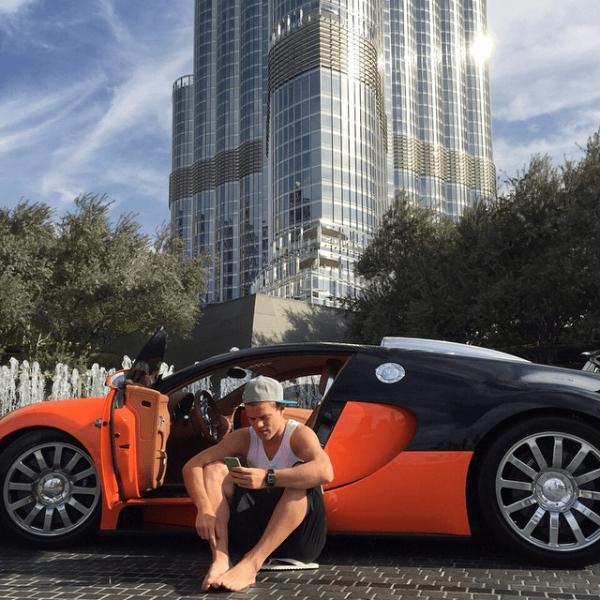 Bugatti Veyron Александра Кокорина