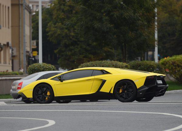 Lamborghini Aventador Александра Кокорина