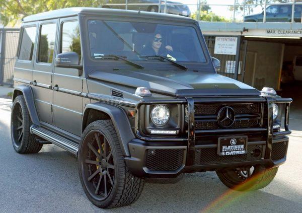 Mercedes-Benz G63 Ким Кардашьян