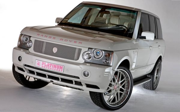 Range Rover Ким Кардашьян
