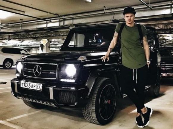 Машина Дмитрия Тарасова