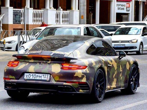 Porsche 911 Turbo S Федора Смолова