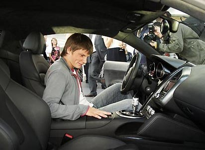 Porsche Panamera Turbo Executive Андрея Аршавина