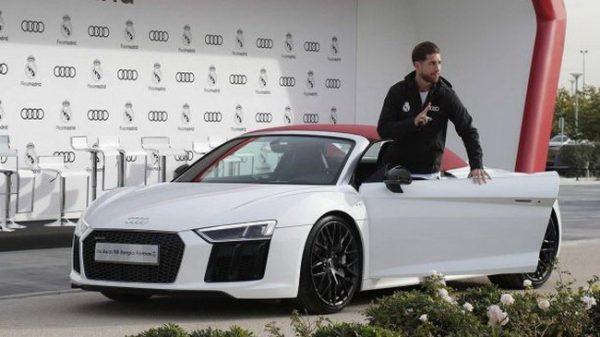 Audi R8 Серхио Рамоса