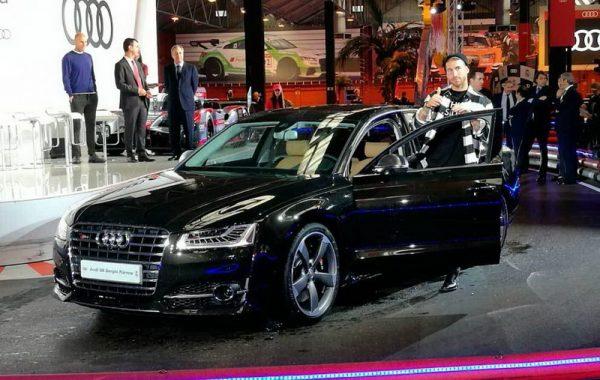 Audi S8 Plus 4.0 TFSi 605 CV Серхио Рамоса