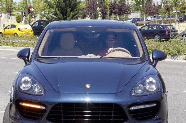 Porsche Cayenne Серхио Рамоса